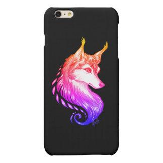 iPhone dibujado mano elegante 6/6s del lobo MÁS el