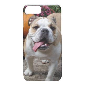 iPhone divertido lindo del dogo inglés 7 cubiertas Funda iPhone 7