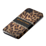 iPhone encadenado 4 de la ilusión del leopardo Funda Para iPhone 4 De Case-Mate