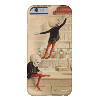 iPhone esquelético 6 Ca del doctor Pharmacist Funda Para iPhone 6 Barely There