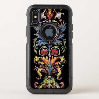 iPhone floral X OtterBox del manuscrito iluminado