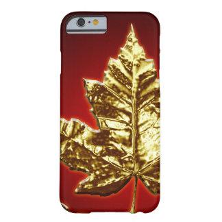iPhone fresco de Canadá 6 regalos de la hoja de Funda Para iPhone 6 Barely There