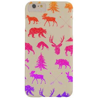 iPhone geométrico 6/6s de los animales el | del Funda Barely There iPhone 6 Plus