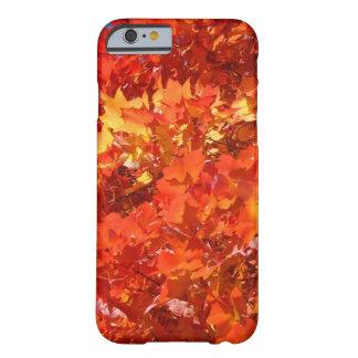 iPhone hermoso de las hojas de la caída 6 gracias Funda Para iPhone 6 Barely There