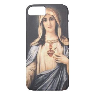 iPhone inmaculado 7 del Virgen María del corazón Funda iPhone 7