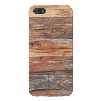 Iphone madera tablón iPhone 5 coberturas