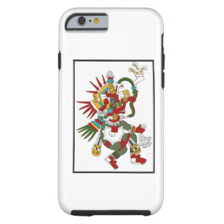Iphone maya de Kukulcan de dios Funda Para iPhone 6 Tough