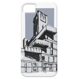 iPhone modernista del edificio de la arquitectura iPhone 5 Protectores