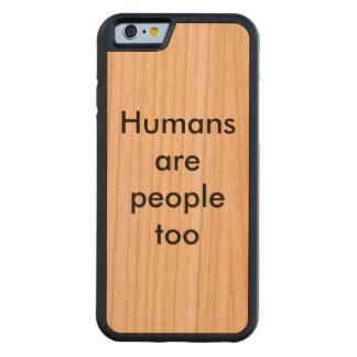 iPhone para la humanidad Funda De iPhone 6 Bumper Cerezo