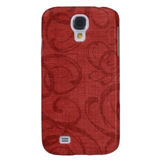 iPhone rojo 3G/3GS del caso del navidad del vintag Funda Para Galaxy S4
