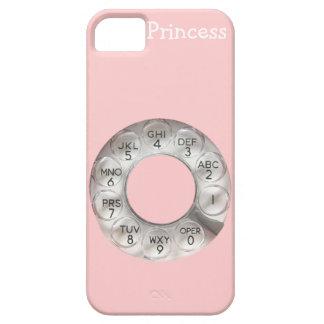 iPhone rotatorio rosado 5 del teléfono Funda Para iPhone SE/5/5s