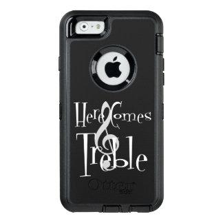 iPhone y caso agudos de Samsung Otterbox Funda OtterBox Defender Para iPhone 6