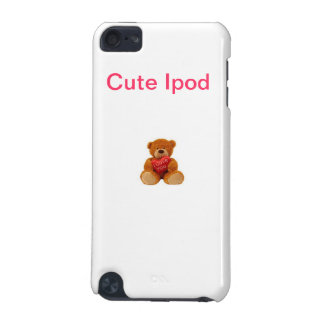 IPod lindo - peluche lindo Funda Para iPod Touch 5G