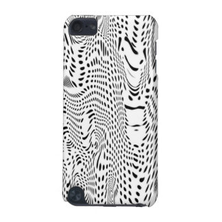 IPod Touch 5G Case - Abstract Warped Dots Pattern