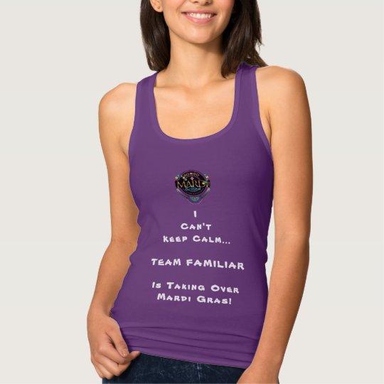 IR-VA el tanque de las mujeres del carnaval Camiseta Con Tirantes