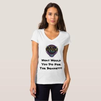 IR-VA la camiseta de las mujeres del carnaval