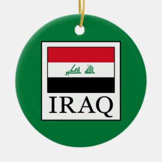 Iraq Adorno Navideño Redondo De Cerámica