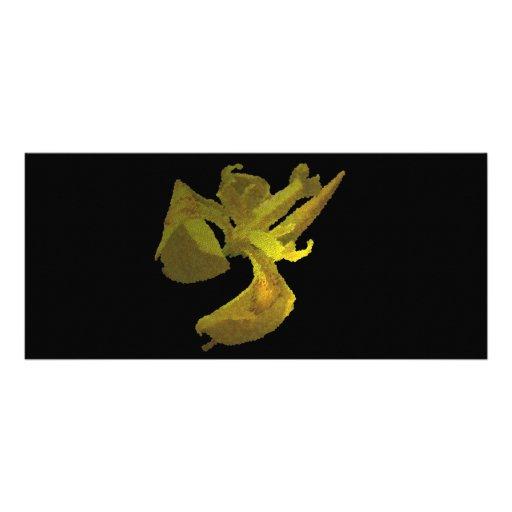iris amarillo (imagen digital) tarjeta publicitaria personalizada