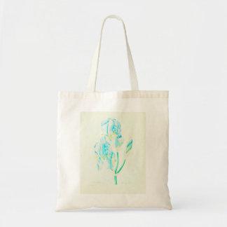 Iris azul por Redoute Bolso De Tela