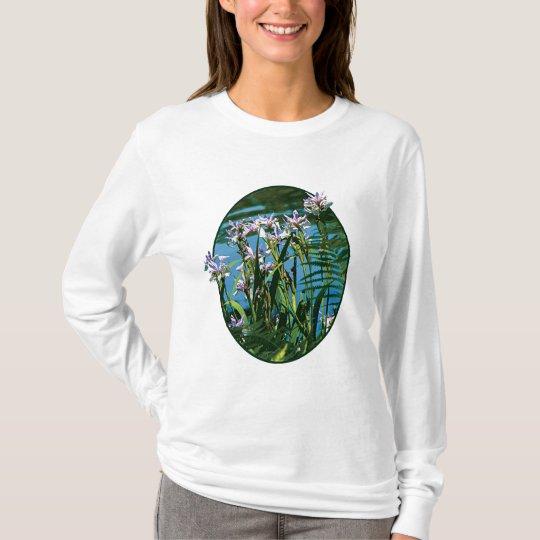 Iris de las señoras del lago camiseta