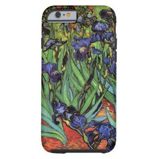 Iris de Van Gogh, arte del impresionismo del poste Funda De iPhone 6 Tough
