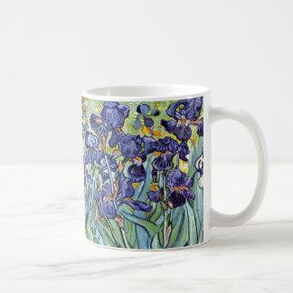 Iris de Vincent van Gogh 1898 Tazas De Café