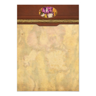 Iris - Diafragma violeta Invitaciones Personales