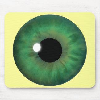 Iris Mousepad fresco de encargo Mousemat del ojo