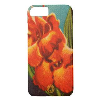 Iris rojo funda para iPhone 8/7