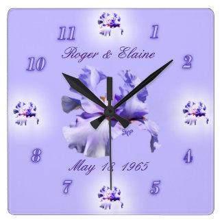 Irise el personalizar del reloj del aniversario y