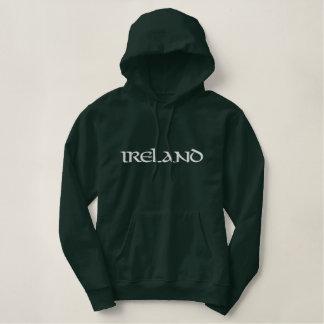 Irlanda bordó sudadera con capucha