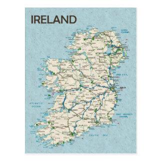 ♥ Irlanda de las POSTALES del MAPA