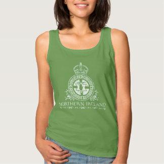 Irlanda del Norte - diseño céltico del ropework Camiseta Con Tirantes