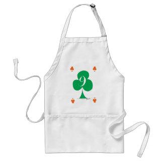 Irlandés afortunado 9 de los clubs, fernandes tony delantal