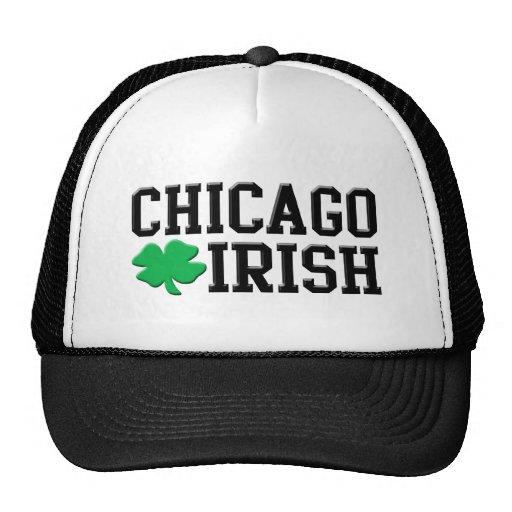 Irlandés de Chicago Gorros Bordados