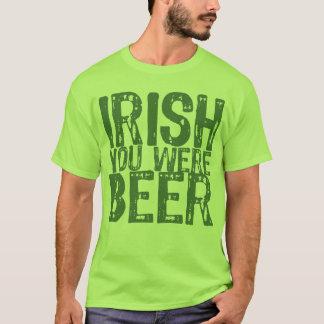 Irlandés de NSPBdtxt usted era camiseta del verde