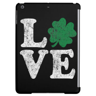 Irlandés del trébol del AMOR del día de St Patrick