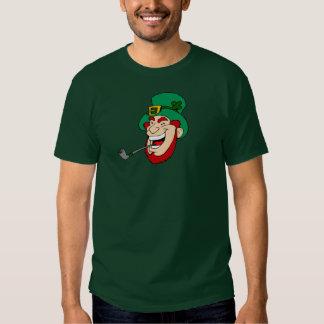 Irlandés divertido ridículo torpe del Leprechaun y Camiseta