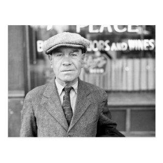 Irlandés en Omaha, los años 30 Postal