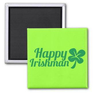 ¡Irlandés feliz! Imán Para Frigorífico