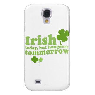 IRLANDÉS HOY TOMORROW.psd HUNGOVER Funda Para Galaxy S4
