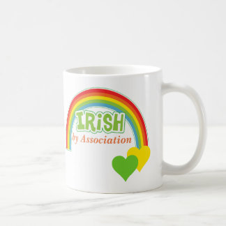 Irlandés por la asociación taza de café