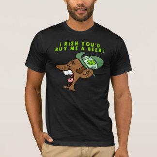 Irlandés usted me compraría una camiseta de la
