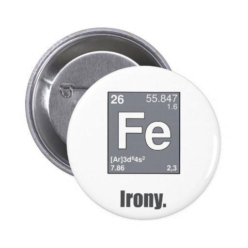 Ironía Pin