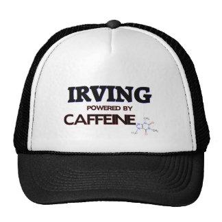 Irving accionó por el cafeína gorro de camionero