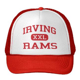 Irving - espolones - escuela secundaria - San Anto Gorras De Camionero