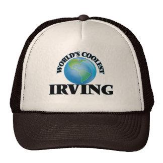 Irving más fresco del mundo gorros bordados