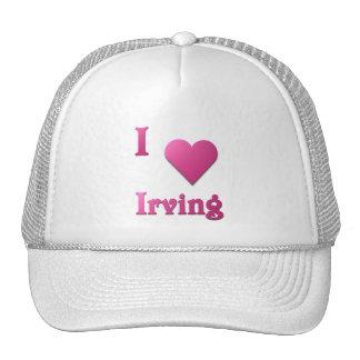 Irving -- Rosas fuertes Gorros Bordados