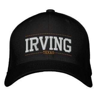 Irving Tejas los E.E.U.U. bordó los gorras Gorros Bordados