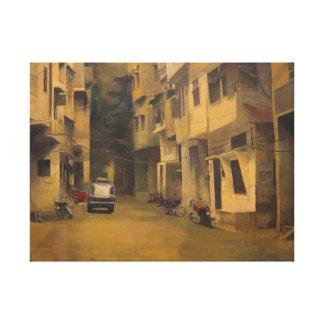 Ishraq ii, aceite en la lona (impresión) impresión en lienzo